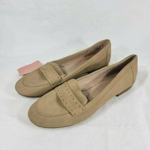 Soul Naturalizer Amya Loafers Studded Suede Tan